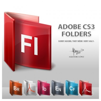 Adobe Folders Icons icons pack
