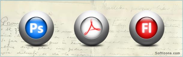 Adobe MAC Suite Icons