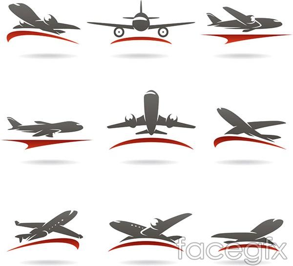 Aircraft Logo Design Vector Over Millions Vectors Stock