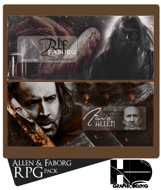 Allen,Faborg RPG Pack