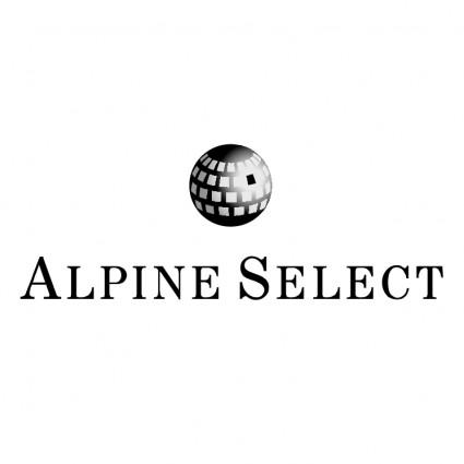 alpine select logo