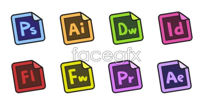 Angular software computer icons