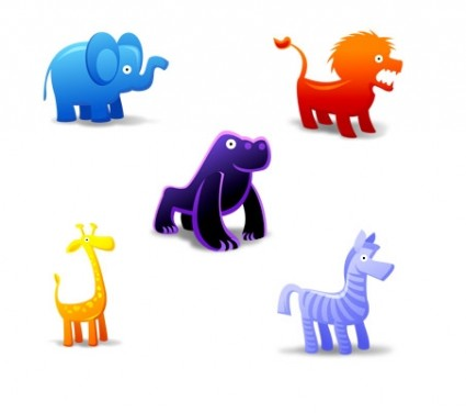 Animal Toys Icons icons pack