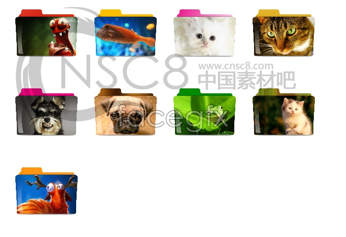 Animals folder icon