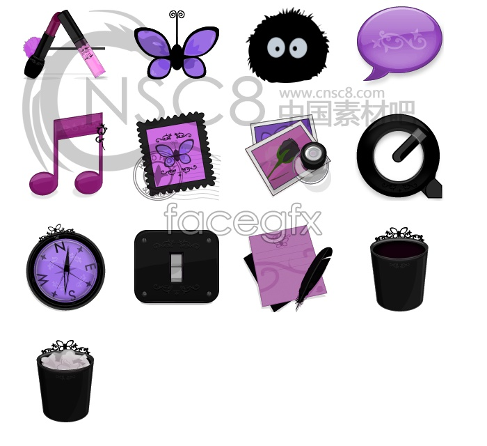 Anna sui series icons