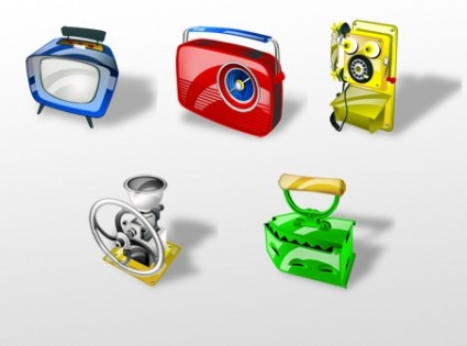 Antiques Web Icons icons pack