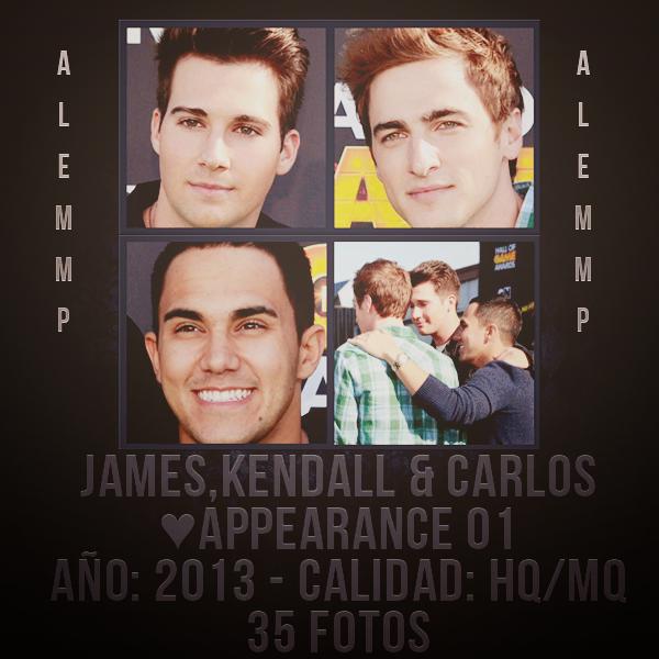 #Appearance 1 – Kendall,James y Carlos – RAR