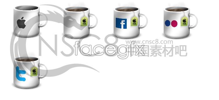 Apple Cup desktop icons