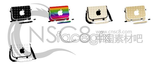 Apple fashion bags icon