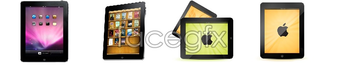Apple iPad desktop icons