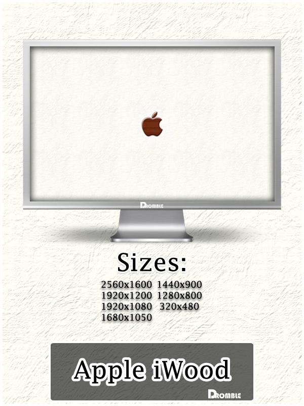 Apple iWood