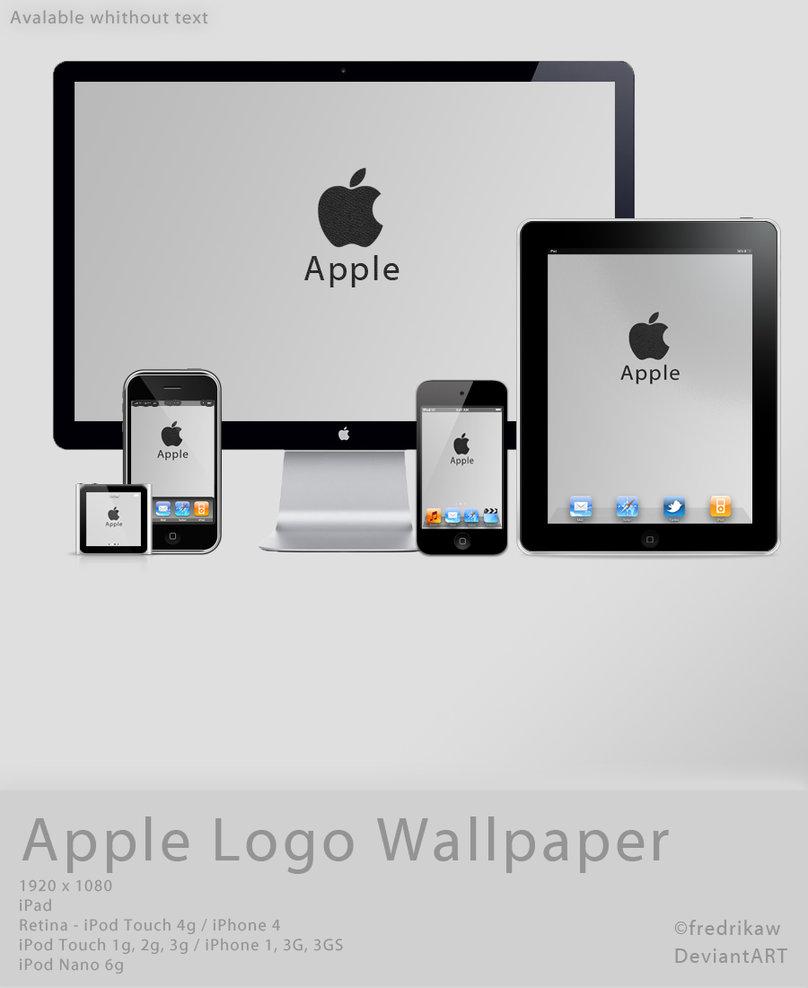 Apple Logo Leather Wallpaper