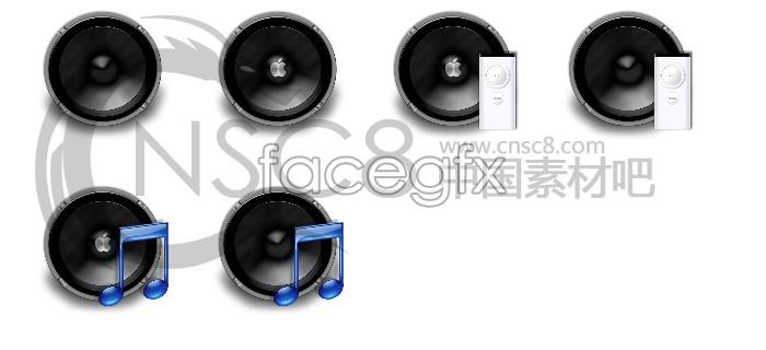 Apple speaker icon