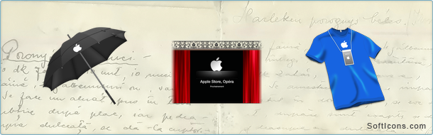 Apple Store Opera Icons