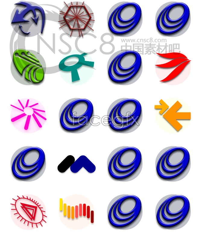 Application software system icons