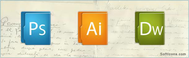 Aquave Adobe Icons
