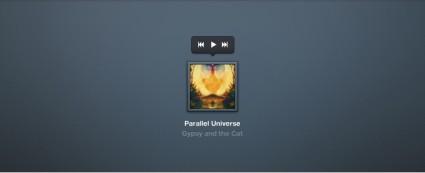 Audio Player with Album Cover Artwork
