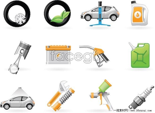 Auto repair icon vector