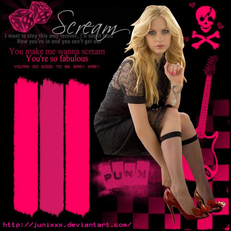 Avril Lavigne: HOT.
