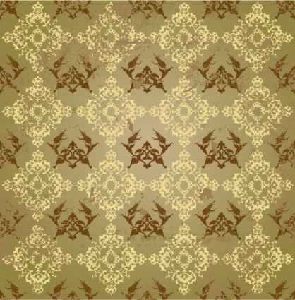 background of classical pattern vector fashion