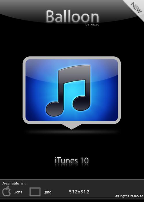 Balloon – iTunes 10