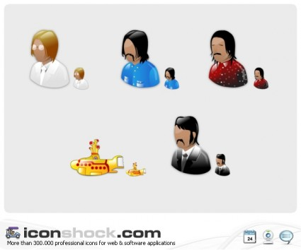 Beatles Vista Icons icons pack