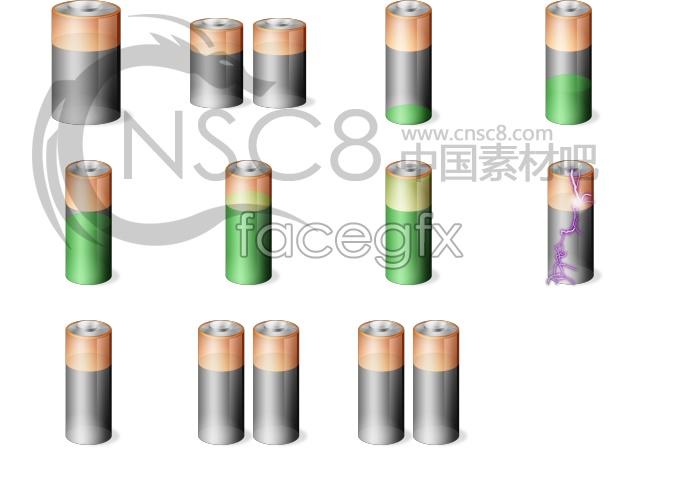 Beautiful battery icon