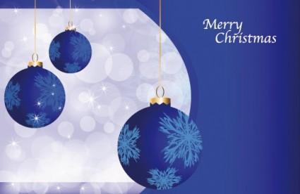 beautiful christmas ball 10 vector