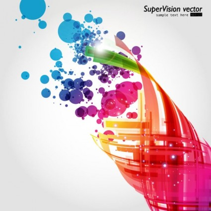 beautiful dynamic background 02 vector