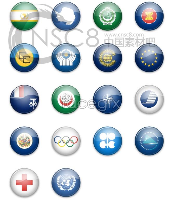 Beautiful flag icons