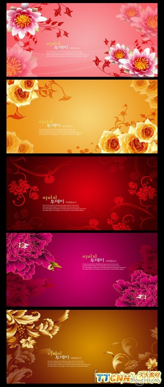 Beautiful korea flower background hierarchy template psd over beautiful korea flower background hierarchy template psd psd material download site offers completely free toneelgroepblik Images