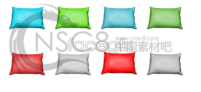 Beautiful pillows icon