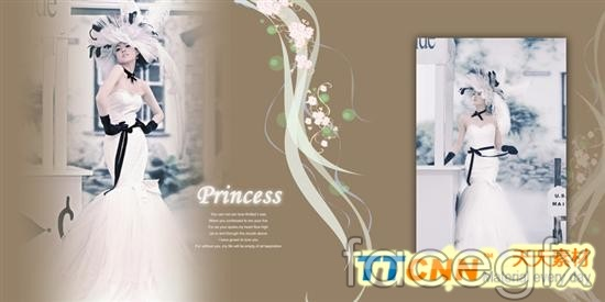 Beautiful wedding album design templates psd – Over millions vectors ...