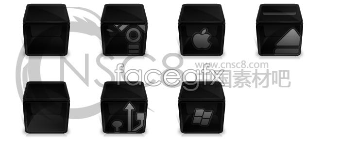 Black box icons