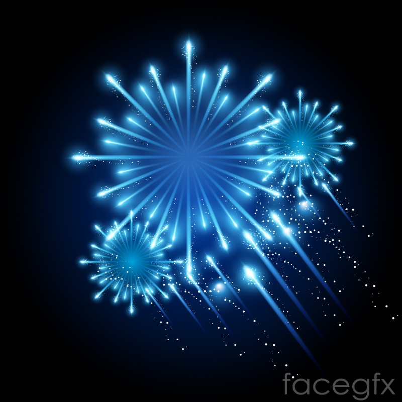 fireworks background for powerpoint