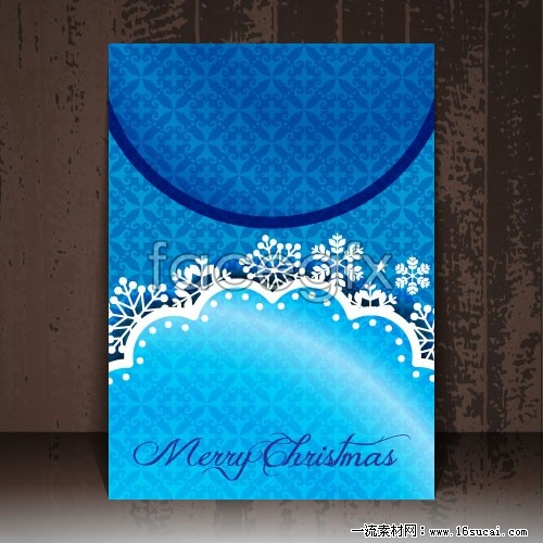 Book cover for Christmas vector IV