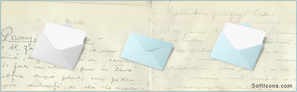 Breeze Envelope Icons