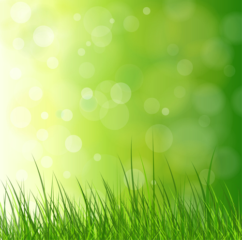 Bright Spring Backgrounds 02 Vector