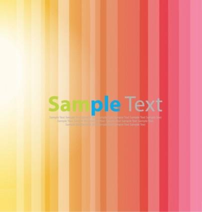 Bright Stripe Vector Background