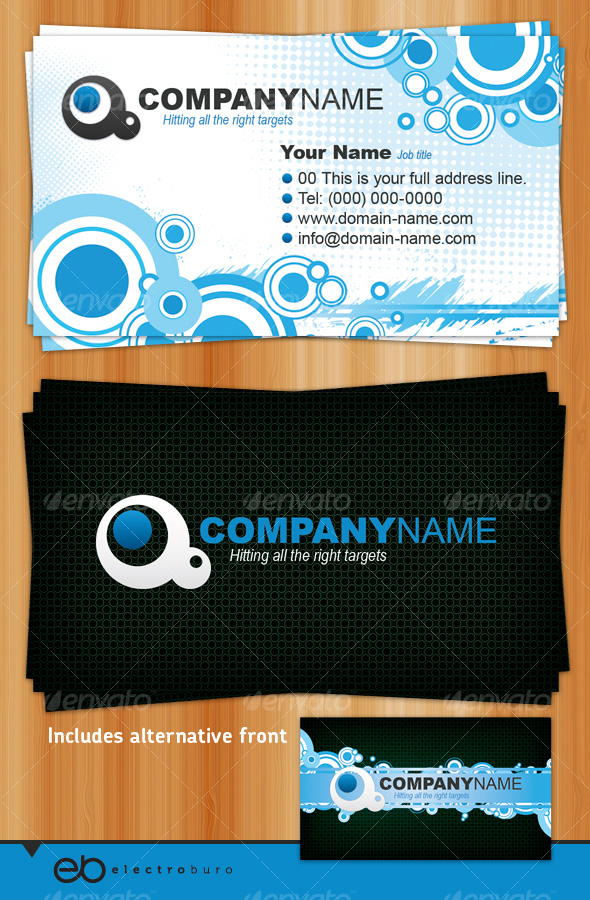 Brilliant business card template