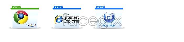 Browser folder icons