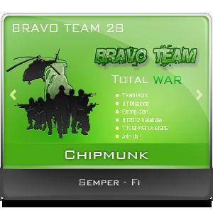BT Bravo Team signature / logo / database