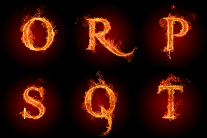 Burning letters o t psd over millions vectors stock photos hd burning letters o t psd thecheapjerseys Image collections