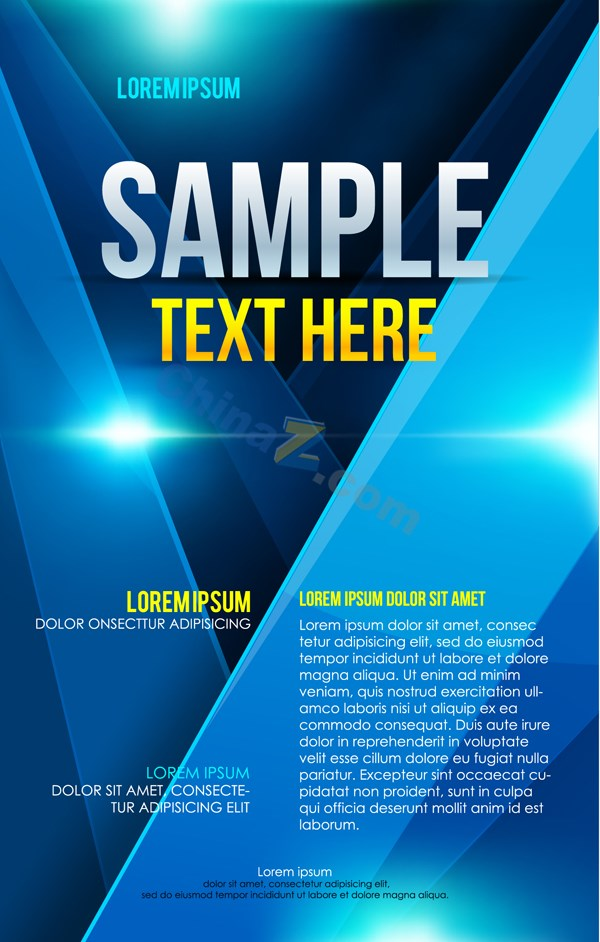 Business Flyer Templates Design Vector Over Millions