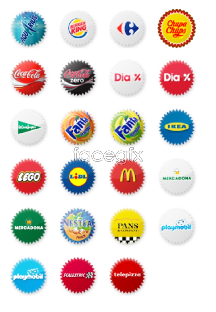 Business LOGO small icons