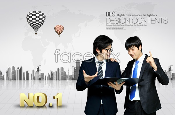 Business prospects for men 3 PSD
