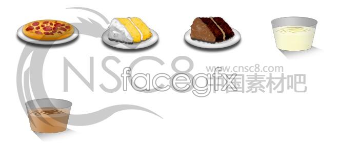 Cakes, Pizza icon