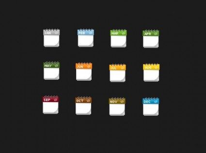 Calendar Icons icons pack