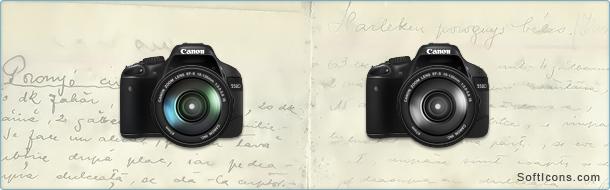 Canon 550D Icon