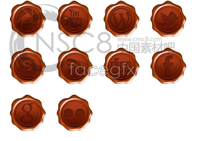 CAP designed desktop icons